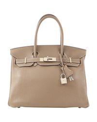 Hermès Natural Birkin 30 Leder Handtaschen