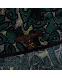 Louis Vuitton Green Mini Rock