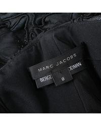 Marc Jacobs Black Midi Kleid