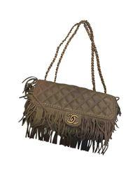 Chanel Multicolor Timeless Leather Bag