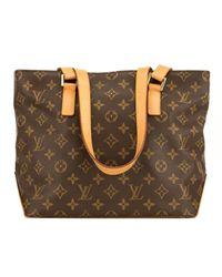 Louis Vuitton Multicolor Piano Leinen Shopper