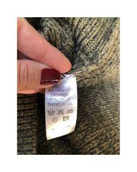 Maglione. Gilet in lana kaki di Joseph in Multicolor
