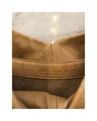 Bottega Veneta Natural Leder Handtaschen