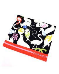 Costume da bagno in cotone multicolore di Chanel