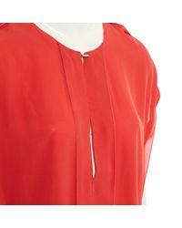 Vestito midi di Lanvin in Orange