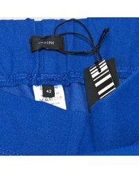 Joseph Pre-owned Blue Viscose Trousers