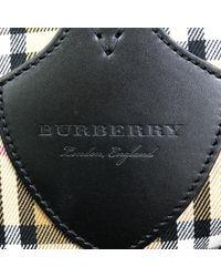 Burberry Brown Leinen Handtaschen
