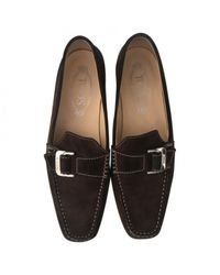 Tod's Brown Pre-owned Flats