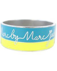 Marc By Marc Jacobs \n Yellow Metal Bracelet
