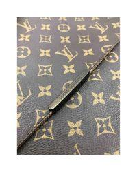 Borsa a tracolla in Tela di Louis Vuitton in Brown