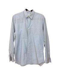 Comme des Garçons Pre-owned Blue Cotton Shirts for men
