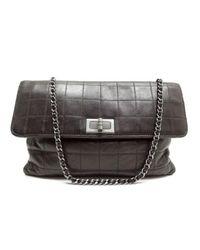Chanel Brown Leder Handtaschen