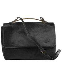 Marni Black Leder Kleine Tasche