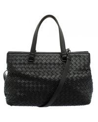 Bottega Veneta Black Leder Handtaschen