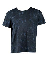 Chemises en Coton Marine Valentino pour homme en coloris Blue
