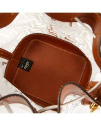 Fendi White Mon Trésor Handtaschen