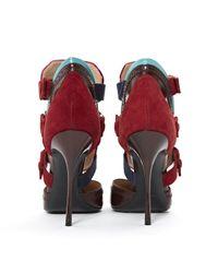 Nicholas Kirkwood Red Leder pumps