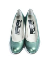 Golden Goose Deluxe Brand Green Leather