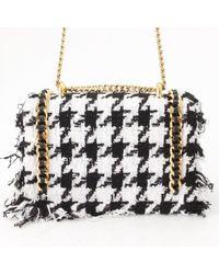 Balmain Multicolor Tweed Handtaschen