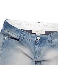 Stella McCartney Blue Straight Jeans