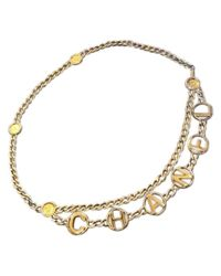 Cintura di Chanel in Metallic