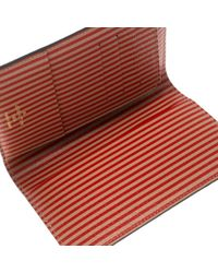 Louis Vuitton Brown Leinen Kartenhalter