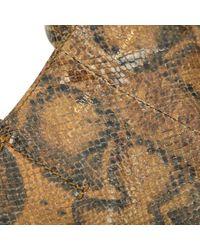 Céline Multicolor Python Kleine Tasche