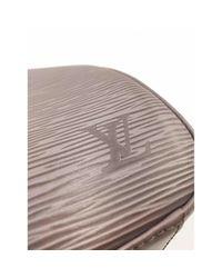 Borsa a mano in pelle grigio \\N di Louis Vuitton in Gray