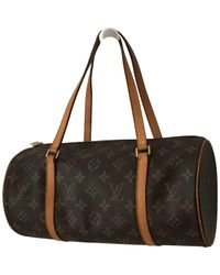 Louis Vuitton - Brown Papillon Handbag - Lyst