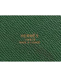 Hermès Green Leder Handtaschen