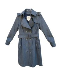 Burberry Gray Trenchs