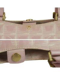 Chanel Multicolor Leinen Aktentaschen