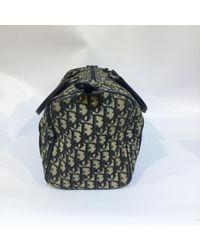 Dior Blue Leinen Handtaschen
