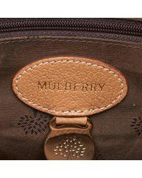 Sac à main Del Rey en Cuir Marron Mulberry en coloris Brown
