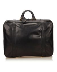 Loewe Black Leather