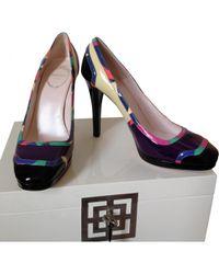 Emilio Pucci Multicolor Pre-owned Multicolour Leather Heels