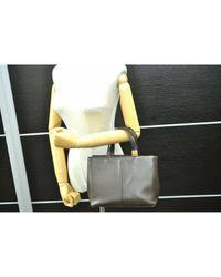 Burberry Brown Leder Handtaschen