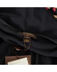 Top en Viscose Noir Louis Vuitton en coloris Black