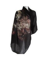 Foulards en Coton Multicolore Dior en coloris Black