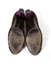 Tacones violeta Céline de color Multicolor