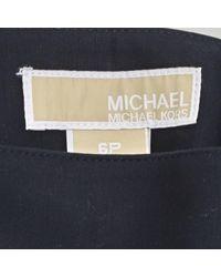 Jupe \N en Coton Marine Michael Kors en coloris Blue