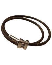 Louis Vuitton Brown Necklace