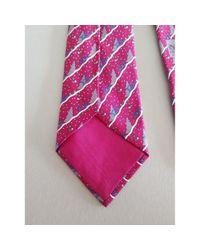 Hermès Seide Krawatten in Purple für Herren