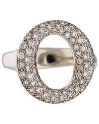 Tiffany & Co Elsa Peretti White Platinum