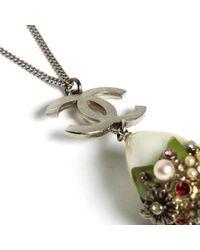 Chanel - Metallic Pendants - Lyst