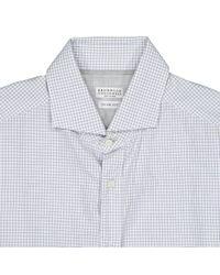 Brunello Cucinelli White Pre-owned Shirt for men