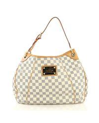 Louis Vuitton Gray Leinen Handtaschen