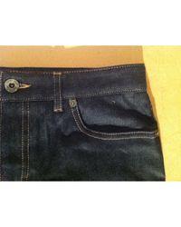 Miu Miu \n Blue Cotton Jeans