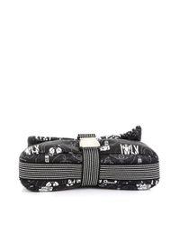 Chanel Black Leinen Cross Body Tashe