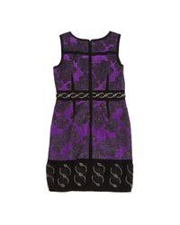 Proenza Schouler \n Purple Wool Dress